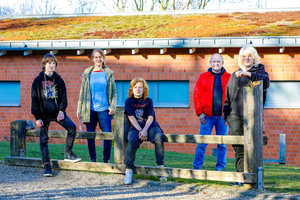Das Gründach der Gesamtschule Holsterhausen ist ein Beitrag zum Klimaschutz.